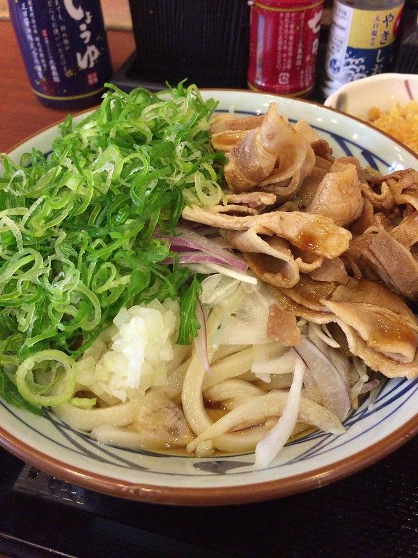 20170618 丸亀製麺西宮の沢 こく旨豚しゃぶ大