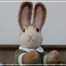 お買いものウサギさん…