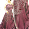 エレガントなミセス女性に似合うドレスの画像
