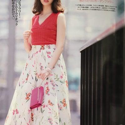 ★小嶋陽菜さん着用★雑誌掲載多数!サマーフラワースカート♪の記事に添付されている画像