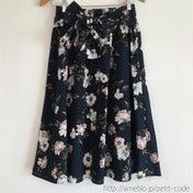 しまパト♡フレアたっぷり花柄スカート&ワンピース