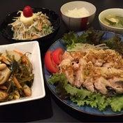 【 昨日の晩ごはん☆ゆで鶏のネギソース 】