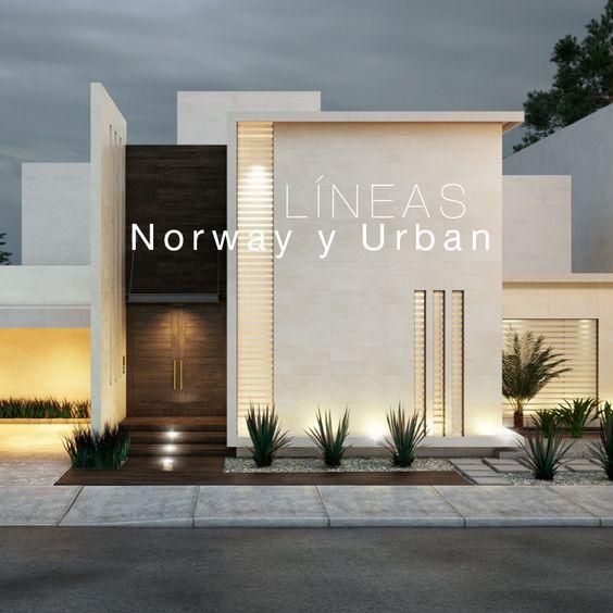 新築住宅の外観アイディア10選 箱型なナウトレンドデザイン: Modern Glamour モダン・グラマー NYスタイル。・・BEAUTY CLOSET <美と