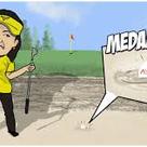 バンカーが苦手なゴルフ女子に【裏技】を教えます!の記事より