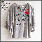 【しまパト】「Ray Cassin」コラボの刺繍Tシャツ、「HK WORKS」新作ワイドパンツ