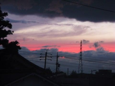 小牧市 夕焼け