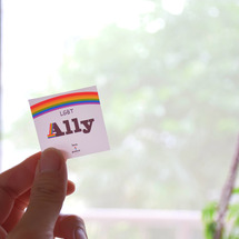 Allyステッカー~…