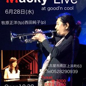 名古屋でライブですの画像