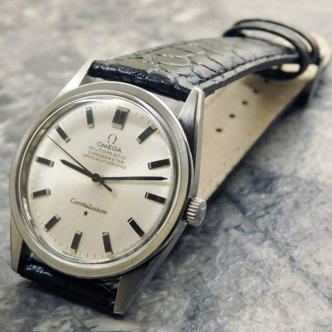 best sneakers 89700 6aa37 オメガ コンステレーション 167.021 メンズ アンティーク腕時計 ...