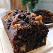 [LIMIA]胡桃とチョコチップのパウンドケーキ。ダンナに見つかるw