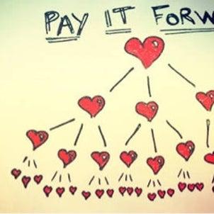 Pay it forward♡私の原点の画像