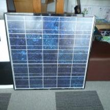 太陽光パネル新入荷~…