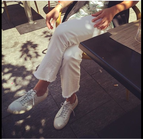 ブッテロ Style ホワイトジーンズ