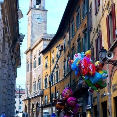 ピサの夏祭り☆ルミナーラ ディ サン ラニエーリの記事に添付されている画像