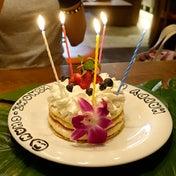 バースデーハワイアンパンケーキ コアパンケーキハウス