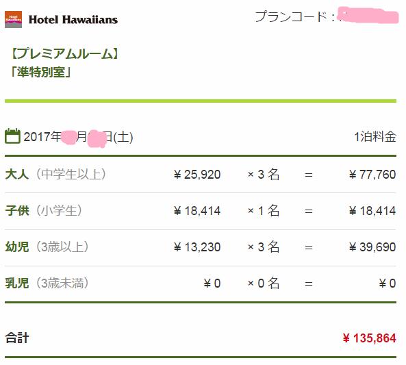 株主 優待 ハワイアンズ