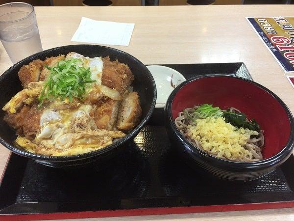 20170624 かつてん かつ丼ダブルミニソバ