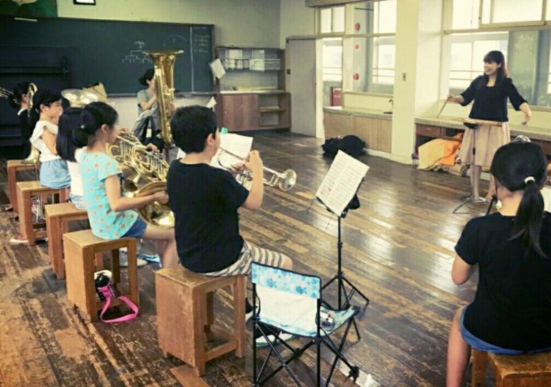 延岡市立東海小学校で吹奏楽レッ...