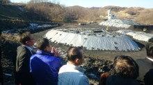 北海道歌志内市空知炭礦㈱露頭炭採掘場所視察