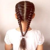 説明いらないくらい単純ですが女の子らしいヘア♡