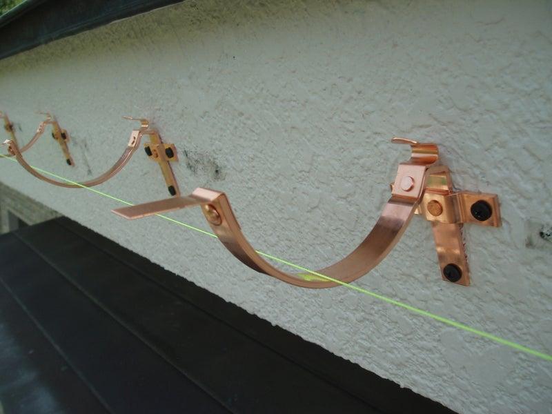 中野市 雨樋 銅製 板金屋