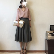 桜餅コーデでhanaちゃんとランチと心のネタ帳
