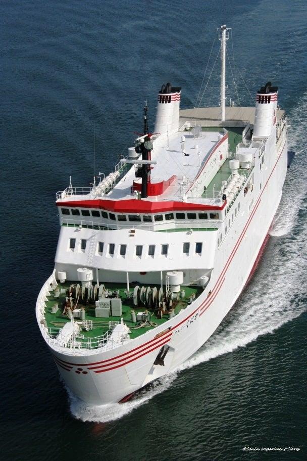 隠岐汽船17年3月期決算は減収減益