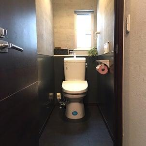トイレのリフォーム まず第一に!お掃除のしやす!!ついでにイメージチェンジをしちゃおうかな〜の画像