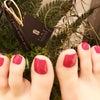 #足の爪のケア!?の画像