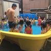 今日の体操教室は…プール!(年中)の画像