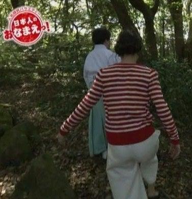 NHKの赤木野々花アナ(6)青木探しに真鶴ロケ・・結果、さやかにイビられるw【多少横乳・パン線】