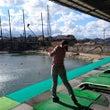 お仕事しながらゴルフ…