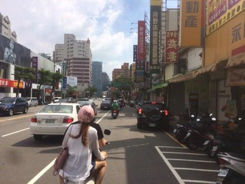 世界一周,台湾,台中,バイク