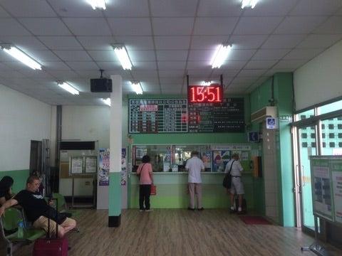 世界一周,台湾,台中,台北,バスターミナル,長距離バス,UBUS