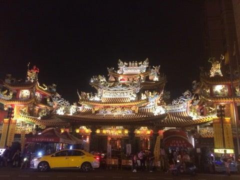 世界一周,台湾,台北,饒河街夜市,松山慈祐宮