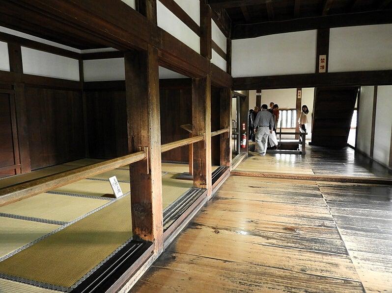 みどりの木のブログ犬山城の紹介3 天守内部
