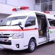 新しい救急搬送車が来…