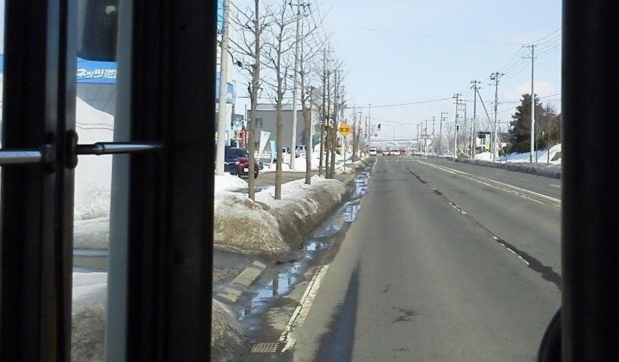 バスと献血のたび【バス乗継旅】岩見沢駅前から砂川駅前まで 1