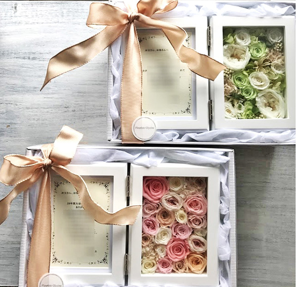 贈呈花,結婚式