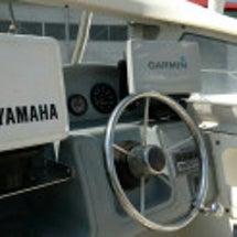 ボート艤装!