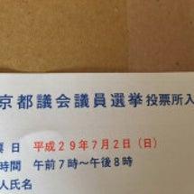 東京都議会議員選挙な…