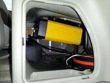 軽キャンパー ドリームミニ オプション インバーター 定位置