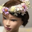 花かんむり 髪飾りの…
