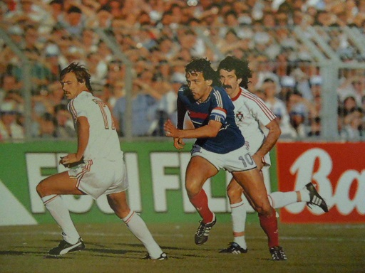 1982年W杯スペイン大会 プラティ...