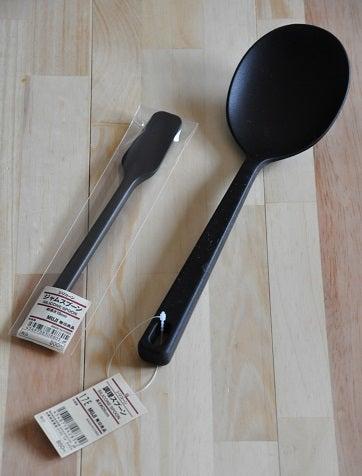 無印良品「シリコーン調理スプーン」