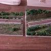 線路上に車両を…の画像