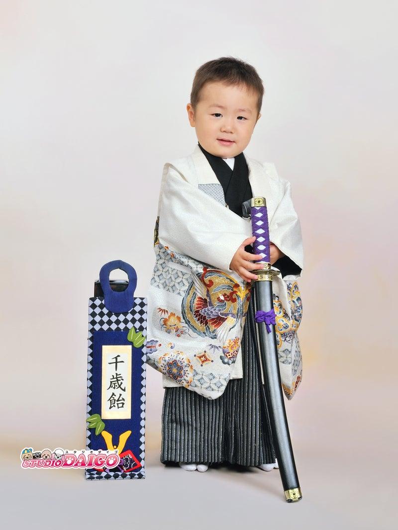七五三、かわいい3歳 男の子!|京都 滋賀の写真館 貸衣裳 スタジオ醍醐