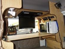 軽キャンパー ドリームミニ オプション 天板キット モニター