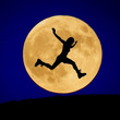 今日は満月の日 -満…