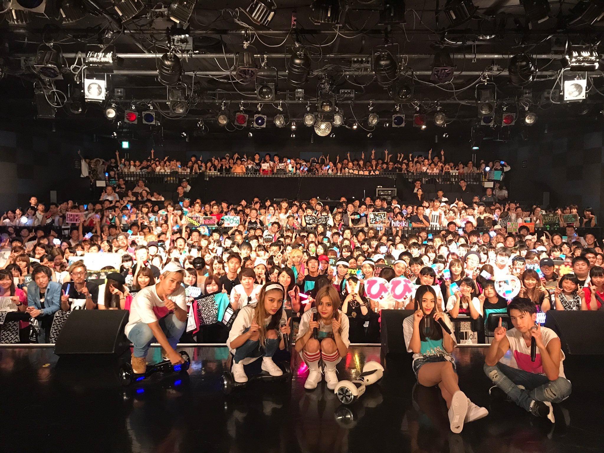 クアトロ クラブ 初めての渋谷クラブクアトロです。